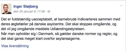 Skärmavbild Facebook.