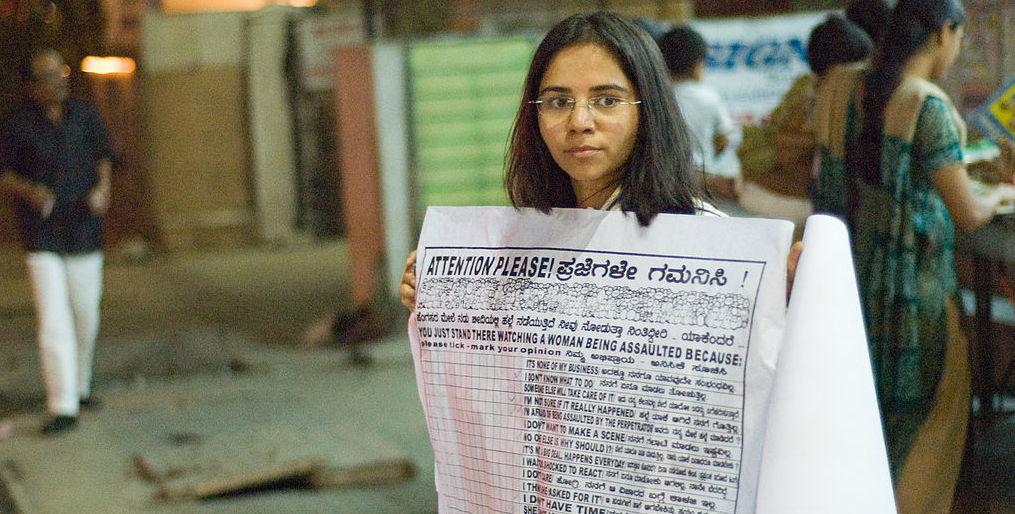 Över hela Indien har människor i flera år demonstrerat mot det utbredda sexuella våldet mot kvinnor och krävt strängare straff. © Kiran Jonnalagadda