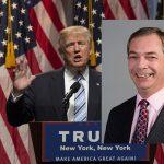 Nigel Farage stöttar Donald Trump och tror att han får stor betydelse, oavsett om han vinner eller inte om tre veckor.