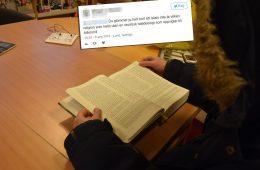 Jonas läser koranen