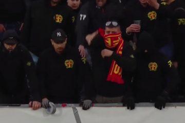 Aggressiva fotbollsvandaler