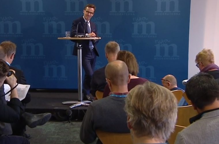 Nedat for regering och opposition