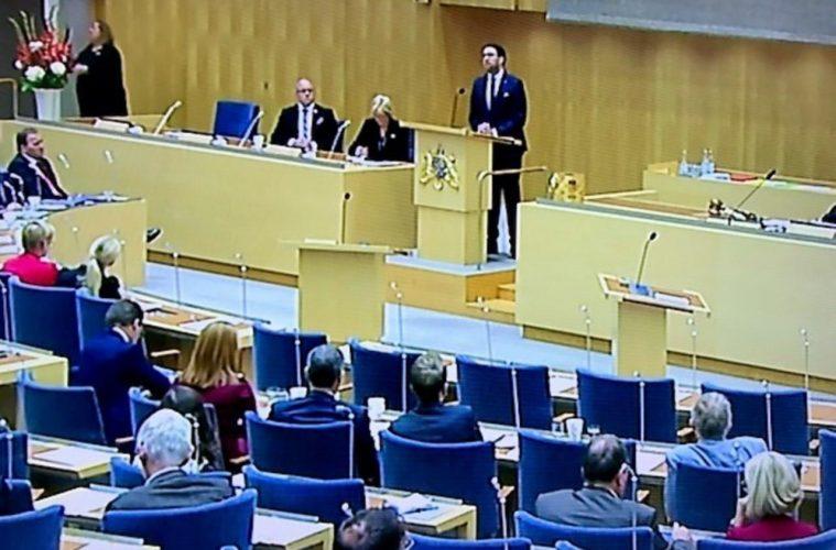 partiledardebatt 11 oktober