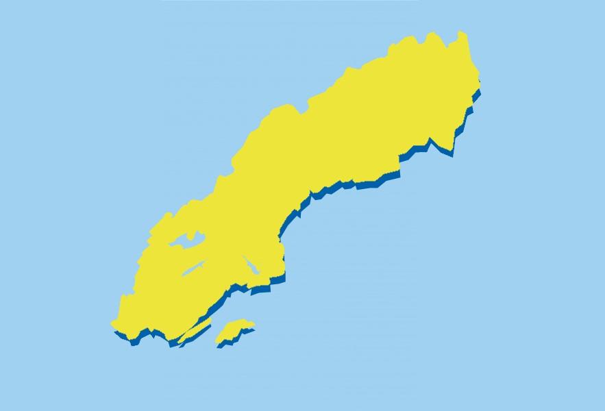 Karta Sverige Lansgranser.Sverige Karta