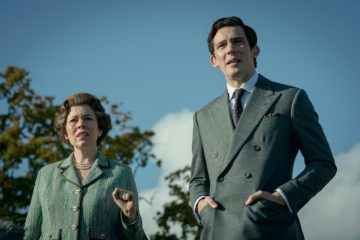 Olivia Colman och Josh O'Connor som drottning Elizabeth II och prins Charles